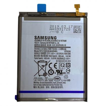 УДАЛИТЬ ДУБЛЬ Аккумулятор Samsung A50 / EB-BA505ABU [Original] 12 мес. гарантии