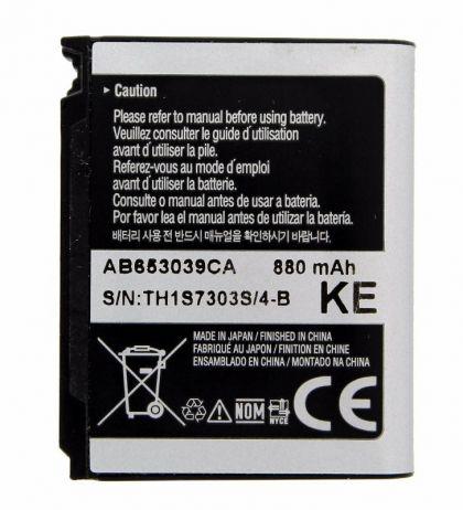 Аккумулятор Samsung S3310, U900, E950, S3500 и др. AB653039CA [S.Original]