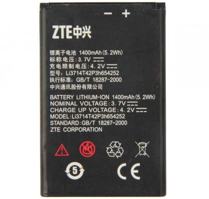 Аккумулятор ZTE Li3714t42p3h654252 (ZTE U809, HAIER W716) [Original]