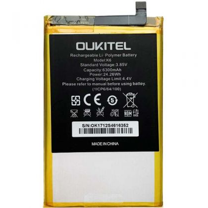 Аккумулятор Oukitel K6 6300mAh [Original]