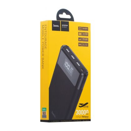 Power Bank Hoco B35E Entourage 30000 mAh Чёрный