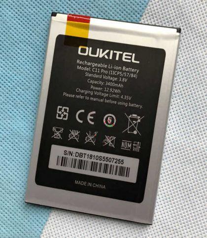 Аккумулятор Oukitel C11 Pro 3400mAh [Original] 12 мес. гарантии