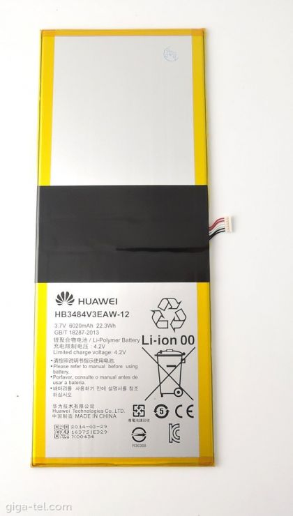 Аккумулятор Huawei MediaPad 10 Link Plus / HB3484V3EAW-12 [S.Original]