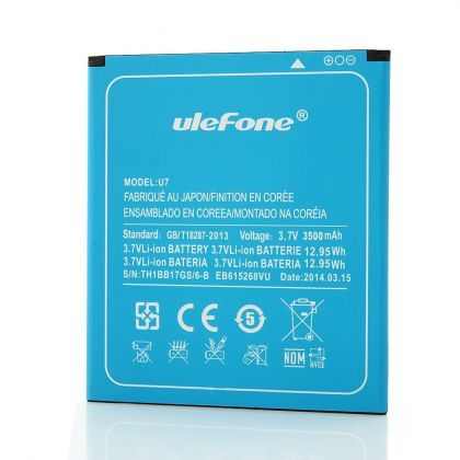 Аккумулятор Ulefone U7 (Created N7, Orientphone Mega Pro 7, Star u69, Vido M87, Gdippo X7, Tronsmart PS7, Luftco AoneX) [Original]