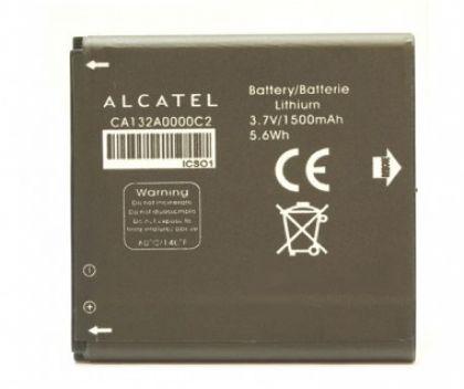 аккумулятор alcatel c5, ot5036 (ca132a0000c2) [original]  - купить  аккумуляторы для остальных брендов  - mobenergy