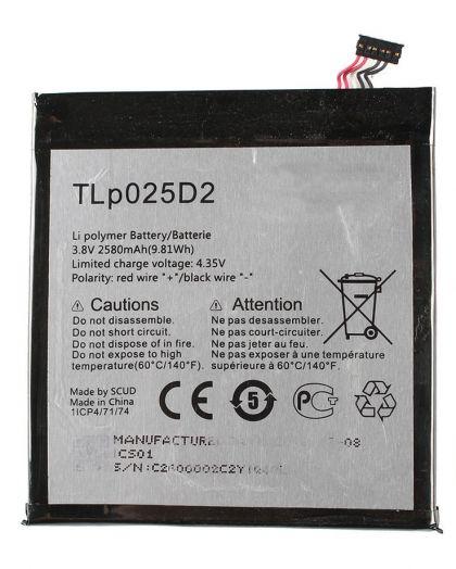 Аккумулятор Alcatel One Touch Pixi 4 8050D / TLp025D2 [Original] 12 мес. гарантии