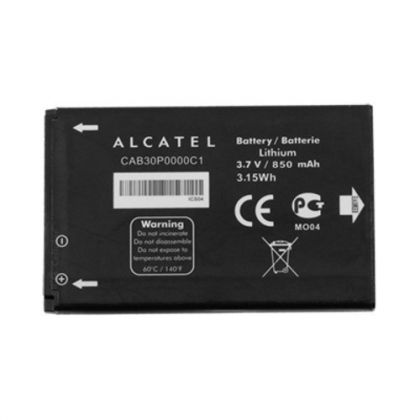 аккумулятор alcatel ot800 (cab30p0000c1) [original]  - купить  аккумуляторы для остальных брендов  - mobenergy