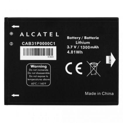 аккумулятор alcatel ot918, 5020a (cab31p0000c1) [original]  - купить  аккумуляторы для остальных брендов  - mobenergy