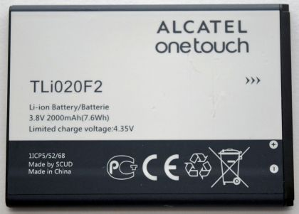 Аккумулятор Alcatel TLi020F2 7040N [Original]