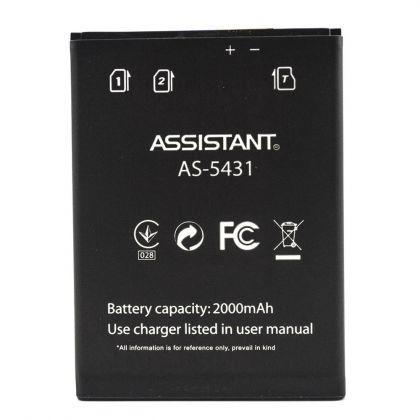 Аккумулятор Assistant AS-5431 Версия Black (Внимание: важен цвет родной АКБ) [Original] 12 мес. гарантии