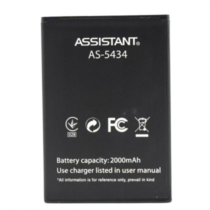 Аккумулятор Assistant AS-5434 Club, AS-501, Jinga Start [Original]