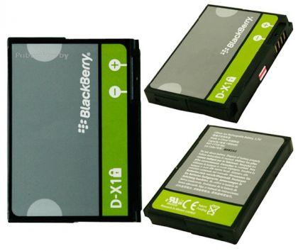 Аккумулятор Blackberry D-X1 8900, 8930, 9500, 9520, 9530, 9550, 9630, 9650 [S.Original]