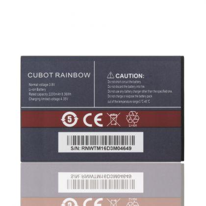 Аккумулятор Cubot Rainbow (2200mAh) [Original] 12 мес. гарантии