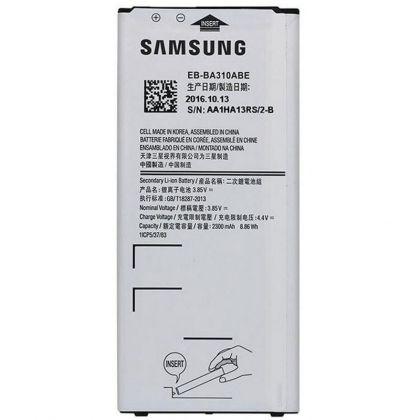 аккумулятор samsung a310, galaxy a3-2016 (eb-ba310abe) [hc]  - купить  аккумуляторы для samsung  - mobenergy