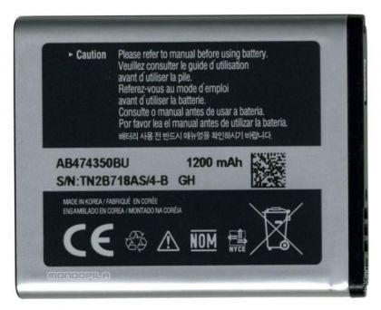 Аккумулятор для Samsung D780, B5722, i5500, i8510 и др. (AB474350BE) [КНР]