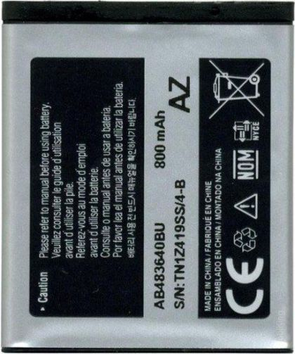 аккумулятор samsung j600, m600, s8300, b3210, s7350, j160, e740 и др. (ab533640bu, ab483640be) [hc]  - купить  аккумуляторы для samsung  - mobenergy