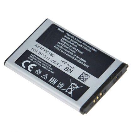 Аккумулятор для Samsung S3650, C3312, C3060, C3322, L700, S5600 и др. (AB463651BE/U/C) [КНР]
