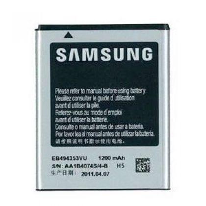 аккумулятор samsung s5250, s5310, s7230, s5570, s5780, c6712, s5280 и др. (eb494353v) [hc]  - купить  аккумуляторы для samsung  - mobenergy