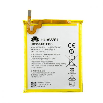 аккумулятор huawei y6 ii cam-l21, honor 5x, honor 6 h60-l02, hb396481ebc [original]  - купить  аккумуляторы для huawei, honor  - mobenergy