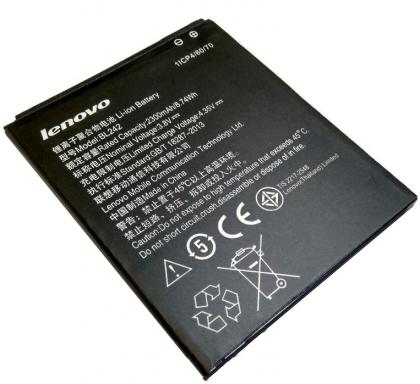 Аккумулятор Lenovo A6010, A6000, K3, K30, A2020 - BL242 2300 mAh [Original] 12 мес. гарантии