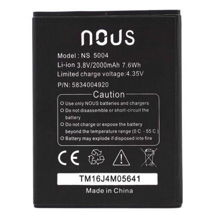 Аккумулятор Nous NS 5004, NS6 / BQS-5070, BQS-5070 Magic [Original]