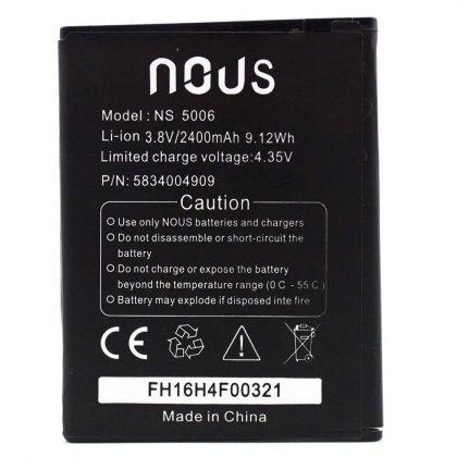 аккумулятор nous ns 5006 [original]  - купить  аккумуляторы для остальных брендов  - mobenergy