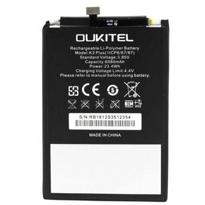 Аккумулятор Oukitel K3 / K3 Plus [Original] 12 мес. гарантии