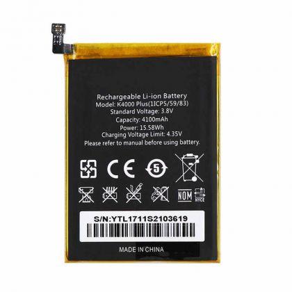 аккумулятор oukitel k4000 plus [original]  - купить  аккумуляторы для остальных брендов  - mobenergy