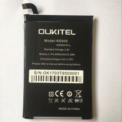 Аккумулятор Oukitel K6000/ K6000 Pro [Original]