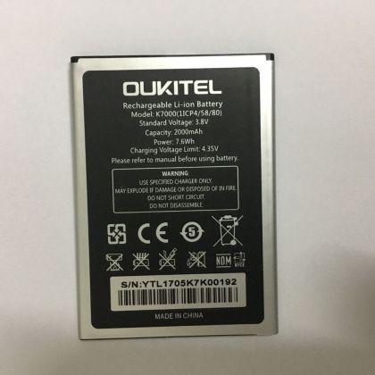 аккумулятор oukitel k7000 [original]  - купить  аккумуляторы для остальных брендов  - mobenergy