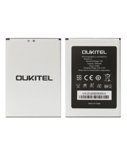 аккумулятор oukitel u7 [original]  - купить  аккумуляторы для остальных брендов  - mobenergy