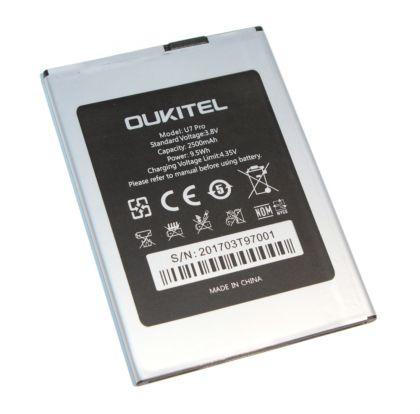 аккумулятор oukitel u7 pro [original]  - купить  аккумуляторы для остальных брендов  - mobenergy