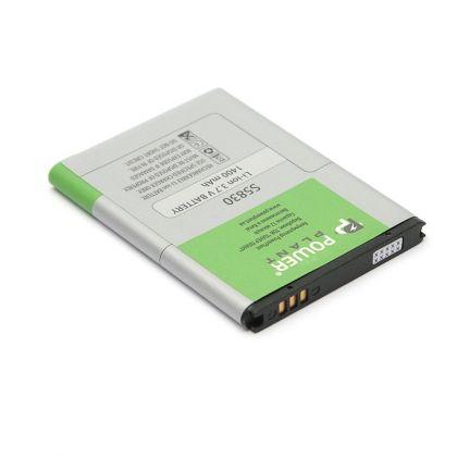 аккумулятор powerplant samsung s5660, s5830, s6312, s6102, s7500 и др. (eb494358vu, eb464358vu) 1400mah  - купить  аккумуляторы для samsung  - mobenergy
