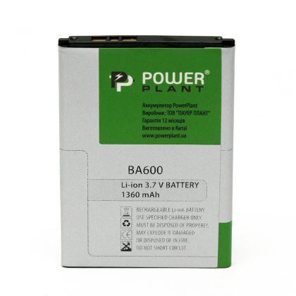 Аккумулятор PowerPlant Sony Ericsson ST25i (BA600) 1360mAh
