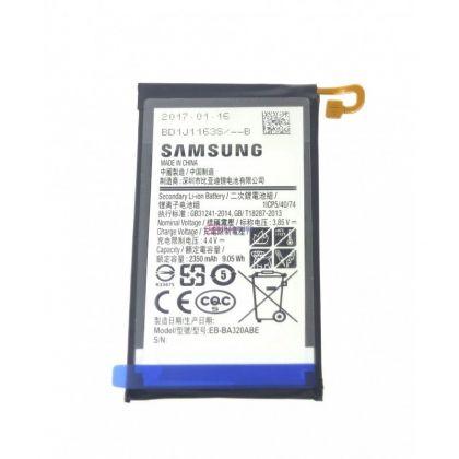 аккумулятор samsung a320, galaxy a3-2017 (eb-ba320abe) [original]  - купить  аккумуляторы для samsung  - mobenergy