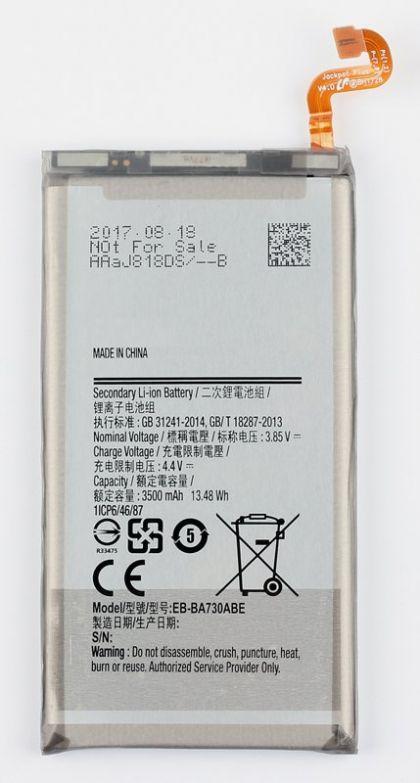 аккумулятор samsung eb-ba730abe a730 galaxy a7 2018 [original]  - купить  аккумуляторы для samsung  - mobenergy