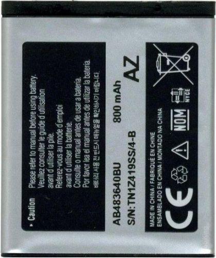 Аккумулятор Samsung J600, M600, S8300, B3210, S7350, J160, E740 и др. (AB533640BU, AB483640BE) [Original] 12 мес. гарантии