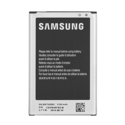 Аккумулятор Samsung N7505, Galaxy Note 3 Neo (EB-BN750BBC) [Original] 12 мес. гарантии