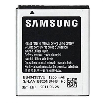 аккумулятор samsung s5250 wave 525 / eb494353vu [service_original]  - купить  аккумуляторы для samsung  - mobenergy