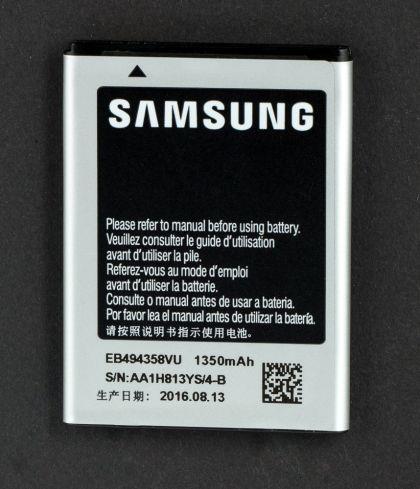 Аккумулятор Samsung S5830 Galaxy Ace / EB494358VU [S.Original]