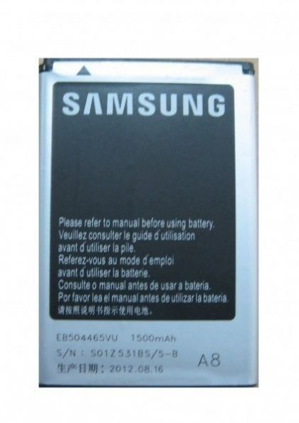 аккумулятор samsung s8530, i5800, i8910, s8500 и др. (eb504465vu) [original]  - купить  аккумуляторы для samsung  - mobenergy
