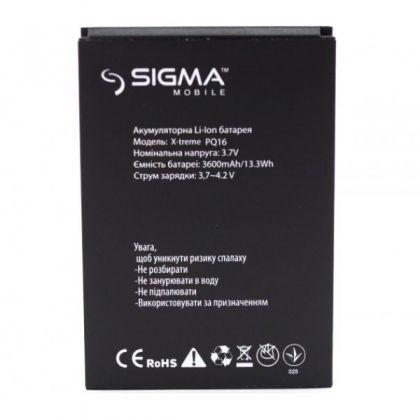 аккумулятор sigma x-treme pq16 [service_original]  - купить  аккумуляторы для остальных брендов  - mobenergy