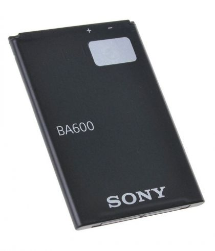 аккумулятор sony ba600 [service_original]  - купить  аккумуляторы для sony (ericsson, xperia)  - mobenergy