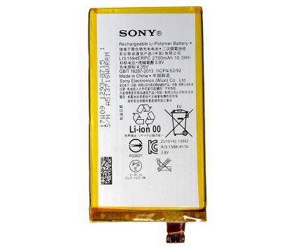 аккумулятор sony lis1594erpc e5803/ e5823/ f3212/ f3215/ f3216, xperia z5 compact [original]  - купить  аккумуляторы для sony (ericsson, xperia)  - mobenergy