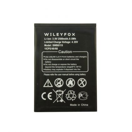 аккумулятор wileyfox swb0115 wileyfox swift [original]  - купить  аккумуляторы для остальных брендов  - mobenergy