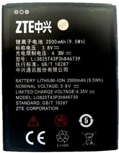 аккумулятор zte q805t, li3825t43p3h846739 [original]  - купить  аккумуляторы для остальных брендов  - mobenergy