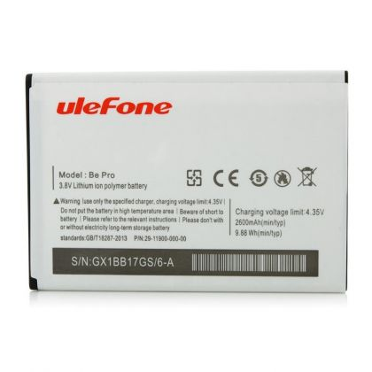 Аккумулятор Ulefone Be Pro / Be Pro 2 / L55 / 3019 [Original]