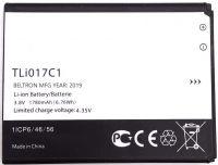 Аккумулятор Alcatel/TCL TLi017C1 (OT5027B Dawn, OT4060O Streak, OT4060A Ideal, OT5017 Pixi 3 4.5 4G) 1780mAh [Original]