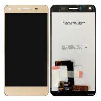 Дисплей (LCD) Huawei Y5 II (CUN-U29/ Honor 5/ Honor Play 5) с сенсором золотой (версия 3G)