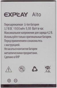 Аккумулятор Explay Alto [Original] 12 мес. гарантии